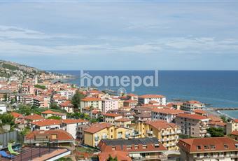 il panorama si estende dalla veduta di Imperia fino a quella di Sanremo  Liguria IM Riva ligure