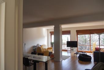 Il pavimento è di parquet, il salone è luminosissimo e affacia sul giardino, con luminoso Calabria CS Castrolibero