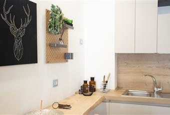 Cucina fatta su misura completa di elettrodomestici e lavasciuga incorporata Lombardia MI Cormano