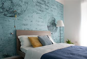 Il pavimento è di parquet, la camera è luminosa,armadio a muro Lombardia MI Cormano