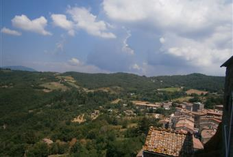 Stanza soggiorno-pranzo. Luminosa esposta ad ovest: tramonti meravigliosi. Toscana GR Roccastrada