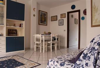 Il pavimento è piastrellato, il salone è luminoso Sardegna SS Stintino