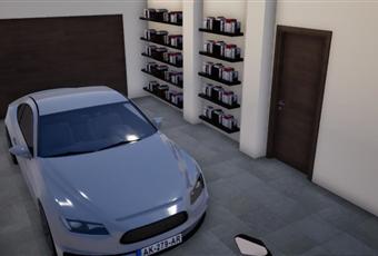 possibilità di posteggiare n. 3 autovetture al coperto, adiacente al garage nel piano interrato si trova cantina, centrale termica, ampia lavanderia e tavernetta Piemonte CN Vignolo