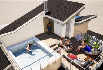 solo per le ville anteriori possibilità del secondo piano fuori terra adibito a zona piscina e solarium o a spazio verde Piemonte CN Vignolo