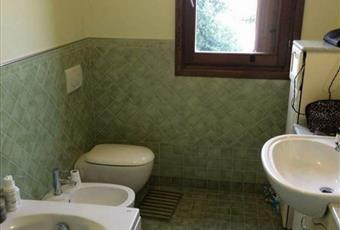 Il pavimento è piastrellato, il bagno è luminoso Marche PU Pesaro
