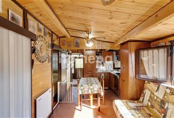 Ampio soggiorno con cucina ad angolo e divano letto a due piazze Liguria GE Cogoleto