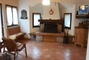 Il salone è con travi a vista, il salone è luminoso, il pavimento è piastrellato Veneto BL Chies D'alpago