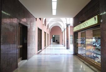 Via Ugo Bassi, galleria del Toro, portineria Emilia-Romagna BO Bologna