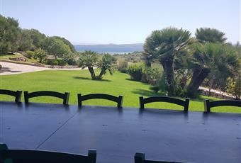 Veranda vista mare con forno a legna e lavandino Sardegna SU Carloforte