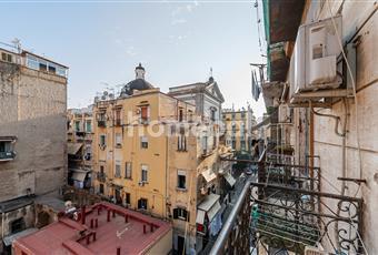 Vista sul centro storico di Napoli Campania NA Napoli