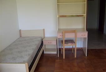 La camera è luminosa, il pavimento è piastrellato, la cucina è luminosa, il pavimento è di parquet Marche PU Urbino