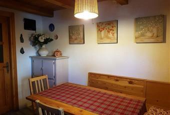 La cucina è con travi a vista Lombardia SO Caspoggio