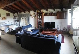 Il salone è con soffitto a volta, il salone è luminoso, il salone è con travi a vista Piemonte AL Tagliolo Monferrato