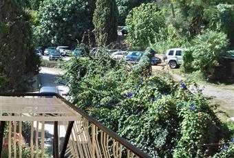 Balcone bilocale con scorcio vista mare e parcheggio   Toscana GR Monte Argentario