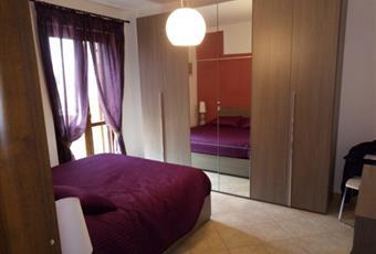 Il pavimento è piastrellato, la camera è luminosa Lazio RM Rignano Flaminio