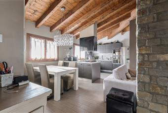 Soggiorno con cucina moderna  Piemonte AL Molare