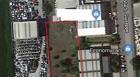 Terreno con progetto approvato in vendita in via san giuseppe , Castelleone