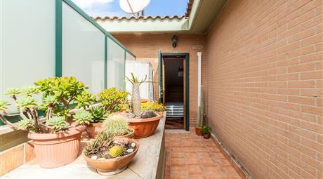 Super attico su 2 livelli con terrazzo e box doppio| Aurelia Massimina
