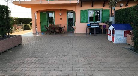 Appartamento con giardino a Rivarolo Canavese