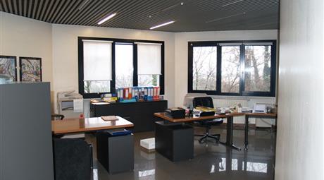 Ufficio con vista panoramica