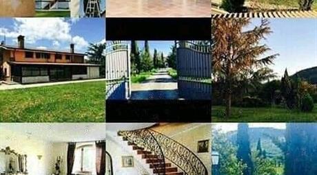 Villa bifamiliare con terreno