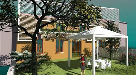 Villa bifamiliare via Guadagni 8, Apollosa