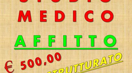 STUDIO MEDICO - AFFITTO