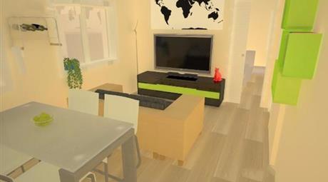 Monolocale appartamento rifinito