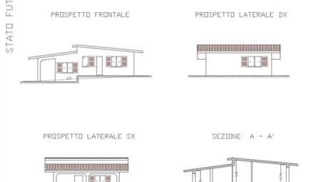 Terreno con progetto per costruzione villetta