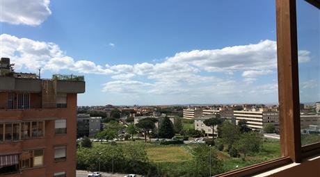 Attico - vista panoramica