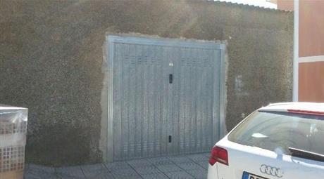 Terreno con garage