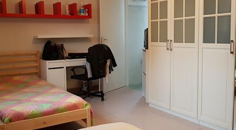 Camera doppia con accesso diretto al abgno