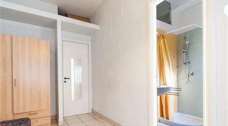 Stanza singola con bagno privato in camera ideale per studiare alla Sapienza