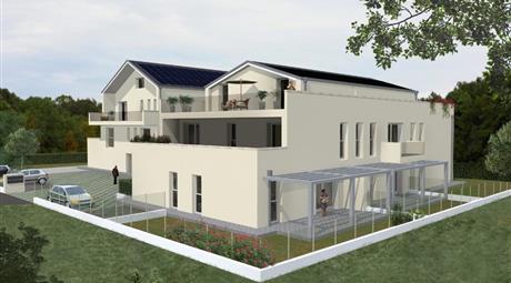Appartamento a 3 camere con zona giorno e terrazzo da 50 mq