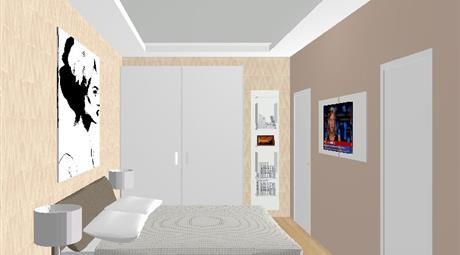 Appartamento 100 mq 3 stanze sogg e cucina