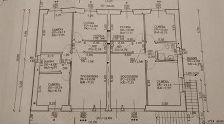Appartamento al primo piano in vendita