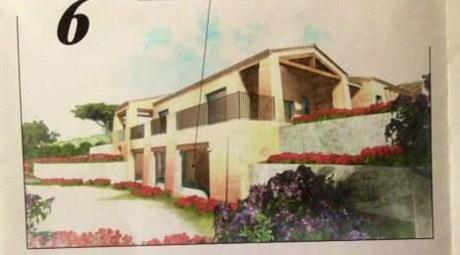 Villa in costruzione tra cannigione e baja sardinia