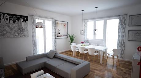 Appartamento quadrilocale in ristrutturazione