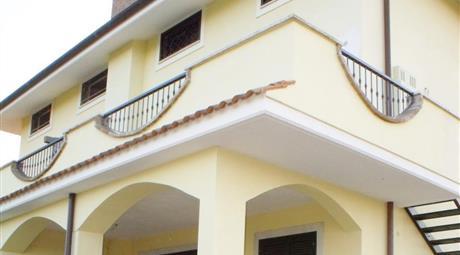 Fregene casa nuova con terrazza panoramica