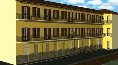 Bilocale di nuova costruzione, centro storico