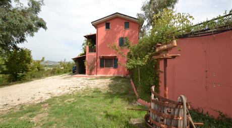 Villa+terreno+ulivi