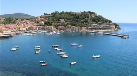 Molocale panoramico sul mare a Porto Azzurro - Isola d'Elba