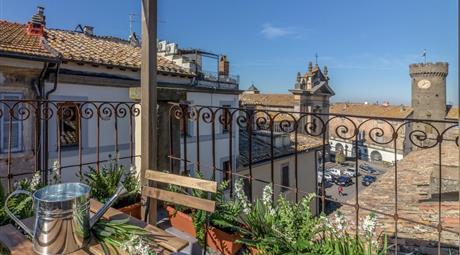 Palazzetto cielo/terra Bagnaia, adiacente Villa Lante