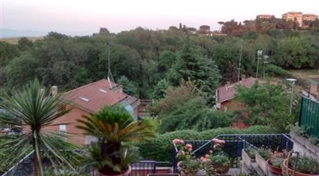 Villetta panorama parco di Veio