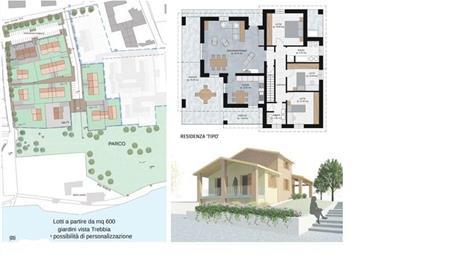 Terreno con Progetto aprovatto per 6 ville