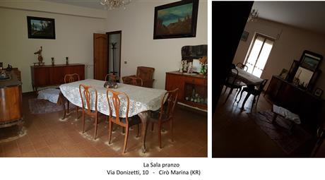 Palazzo: 3 appartamenti + garage a Cirò Marina