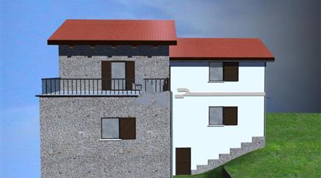 Casale/cascina in vendita in via Colle San Leonardo