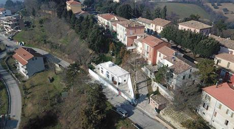 Terrazzo super panoramico con progetto approvato a Monteciccardo