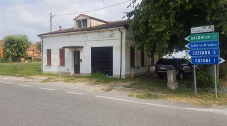 Casetta singola a Luzzara