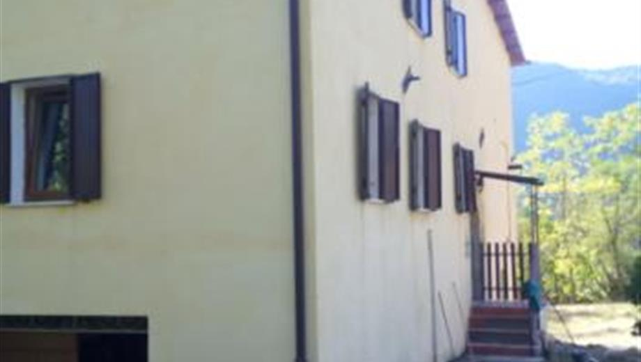 Casa Rocca di Corno Antrodoco-RI ristrutturata